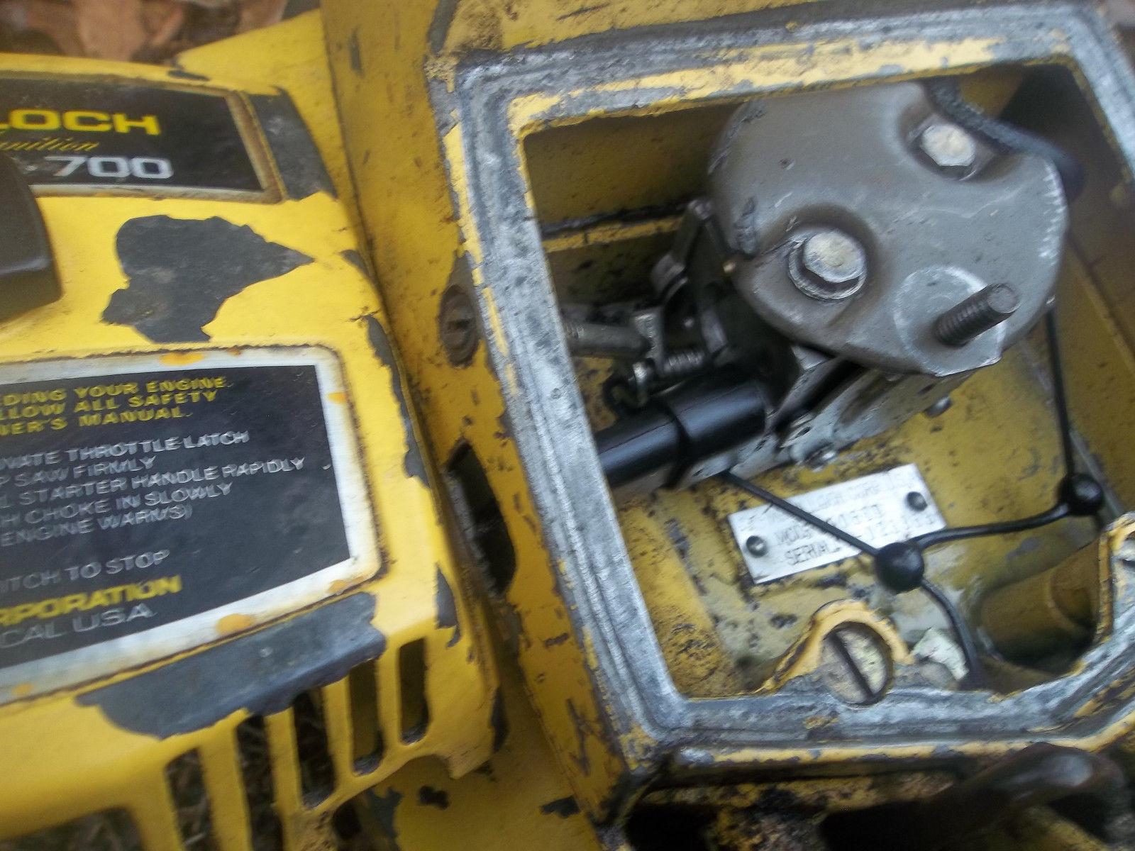 McCulloch ProMac PM 700 Chainsaw-RUNS